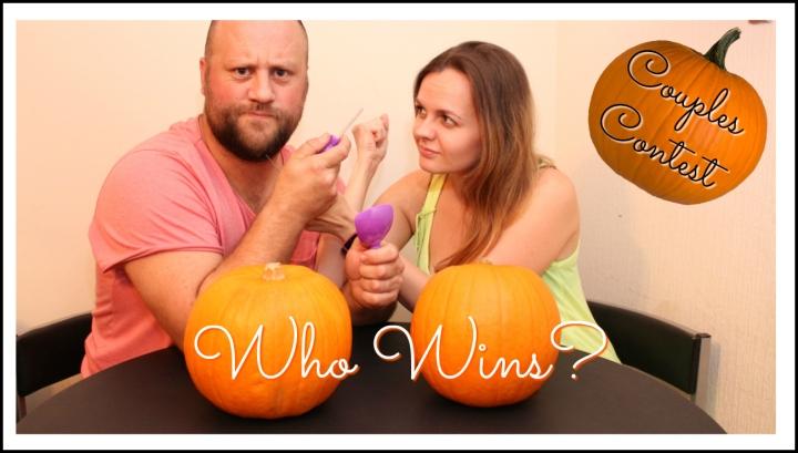 couple-pumpkin-carving-contest