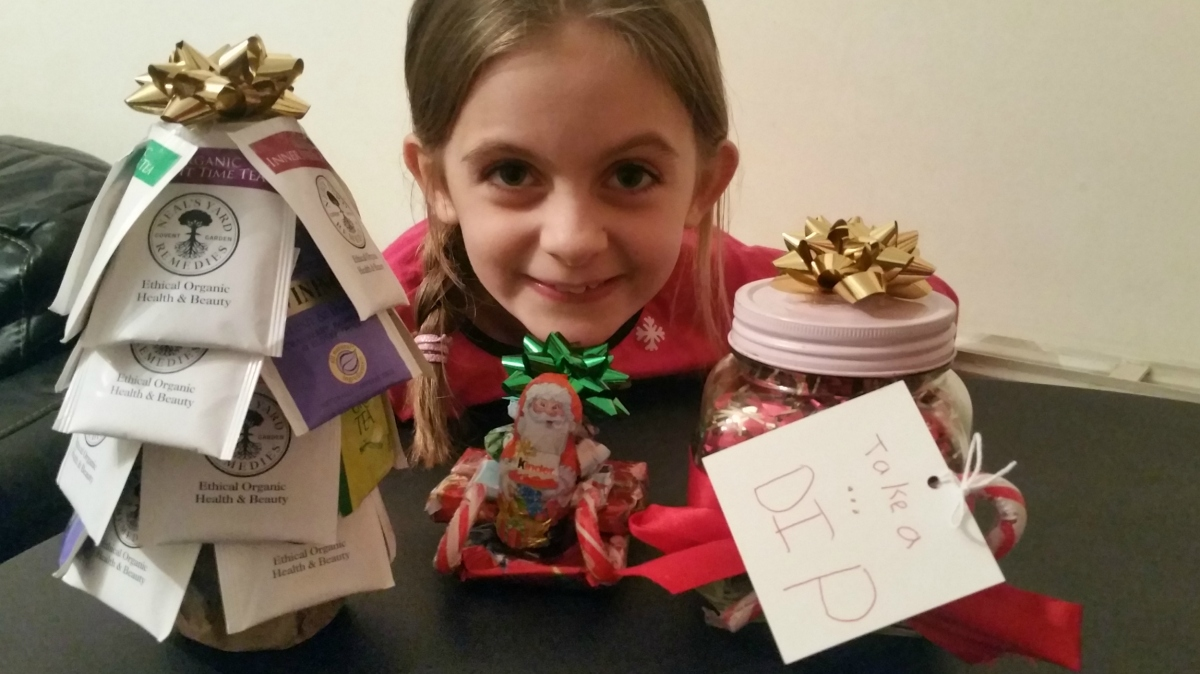 Easy DIY Christmas Gifts From The Kids