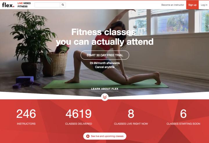 Flex Online Fitness Classes