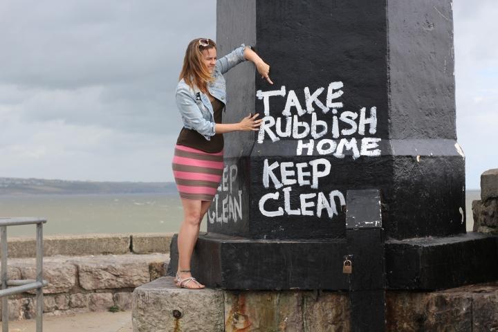 Take Rubbish home