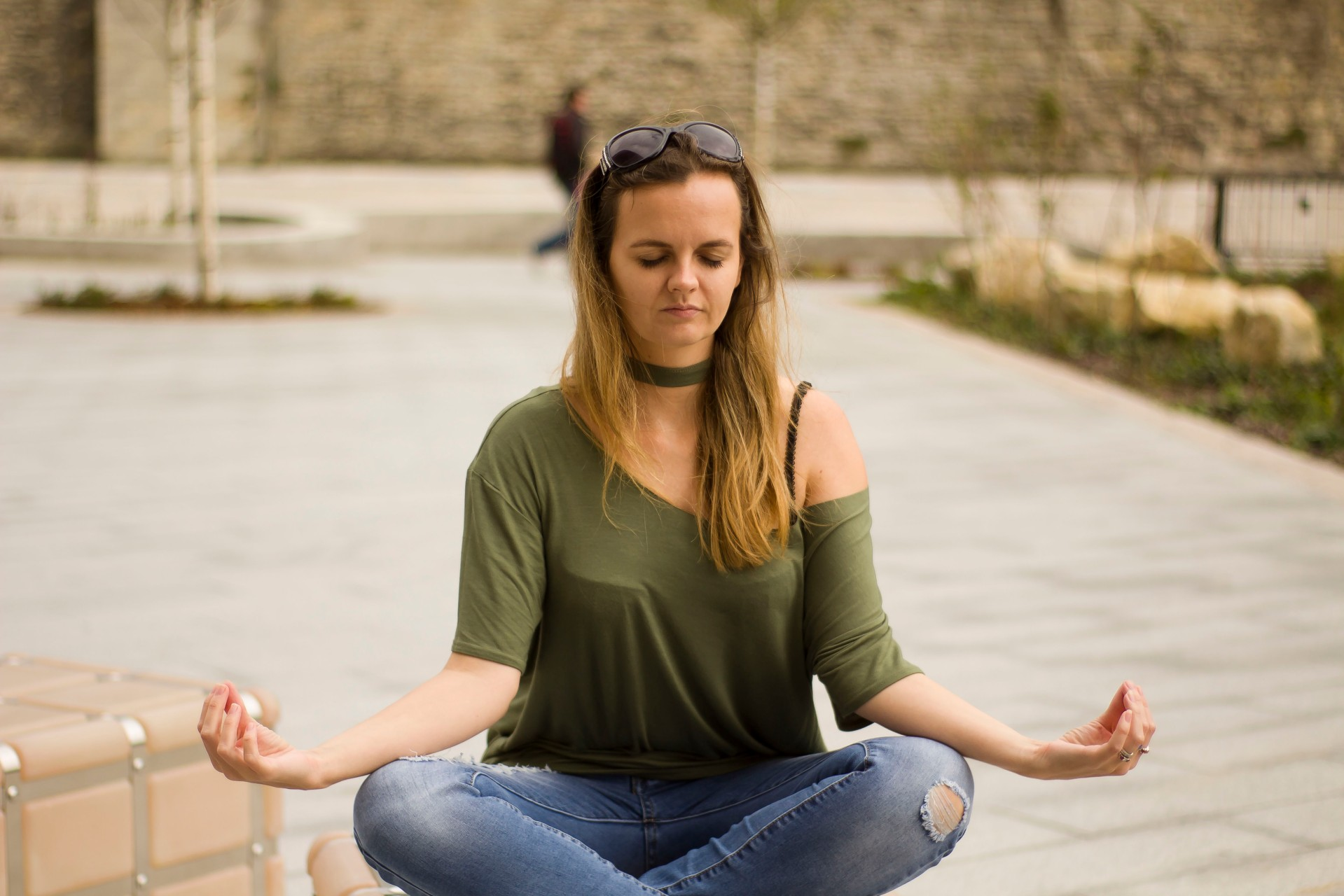 I meditate because I have a temper