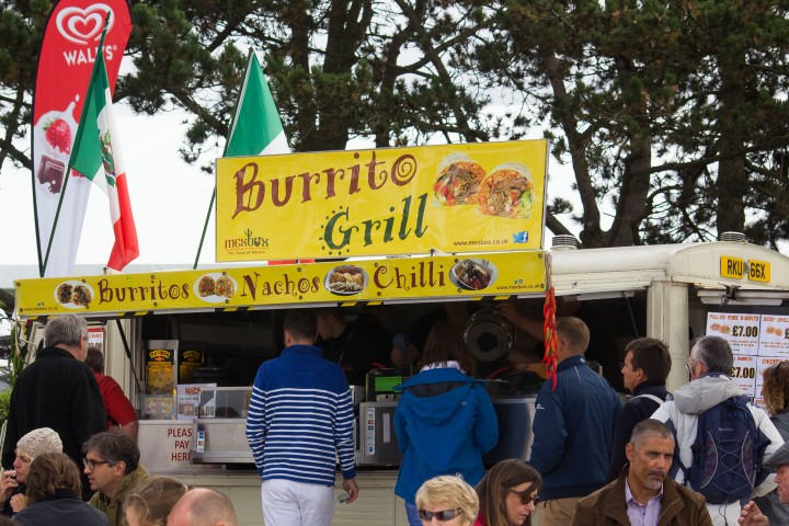Burrito at Southampton boat show 2017