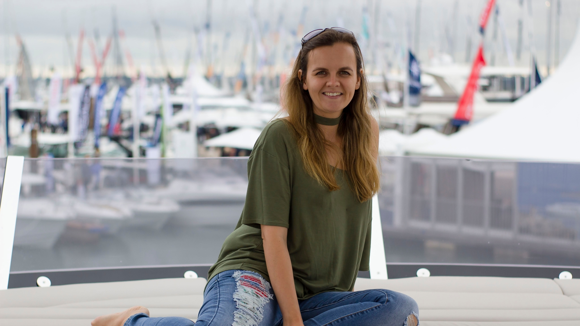 Kirsty Dee at Southampton Boat Show 2017