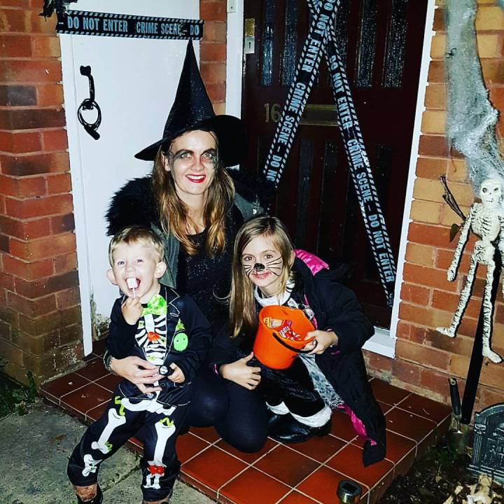 Dressing Up For Halloween With The Kids
