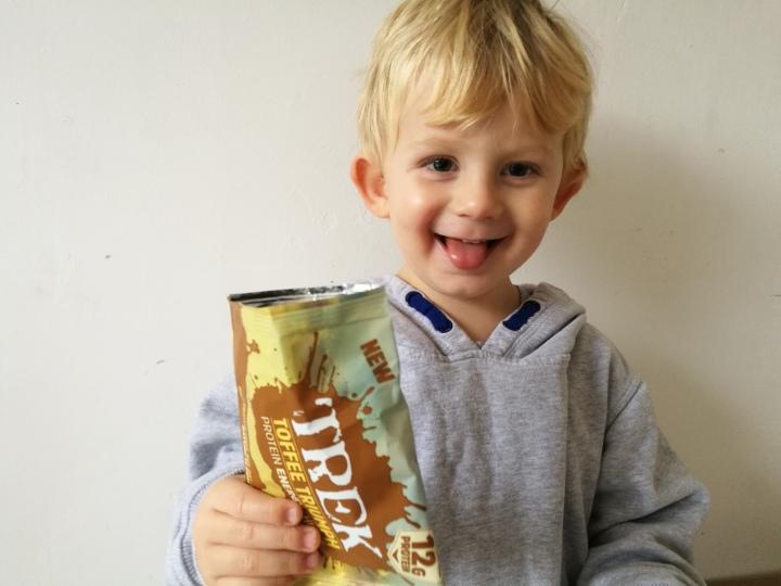 Trek Toffee Triumph Protein Energy Chunks